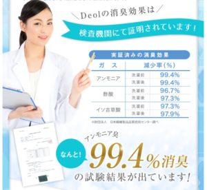 eodorization rate